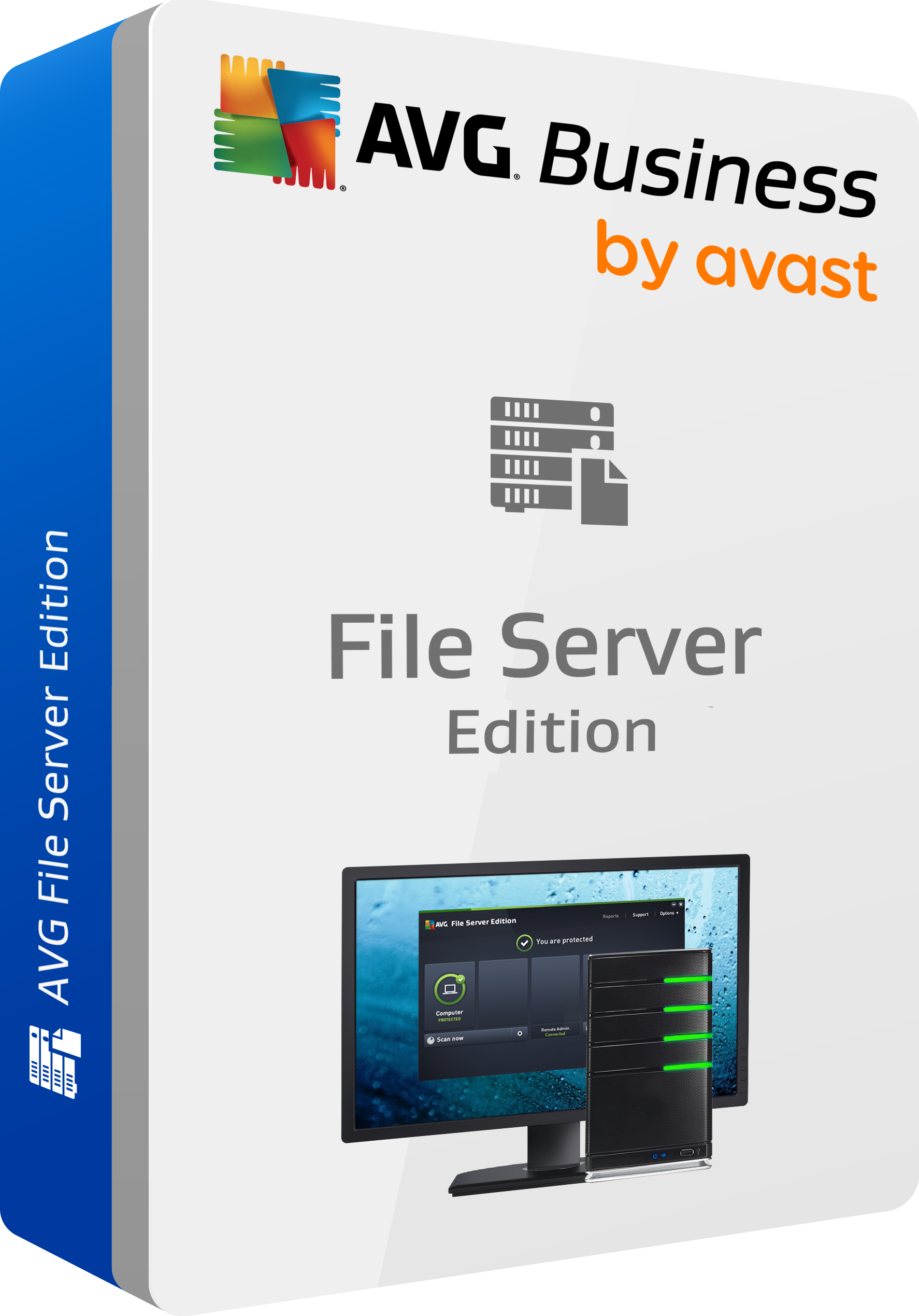 AVG File Server Business Edition, 2 Years License