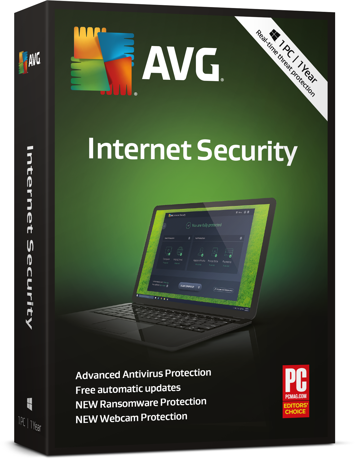 AVG Internet Security 1 Year License