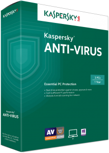 Kaspersky Antivirus 1 Year License