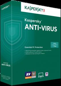 Kaspersky Antivirus 1 Year License